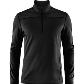 Craft Pin Half Zip Midlayer Herre black